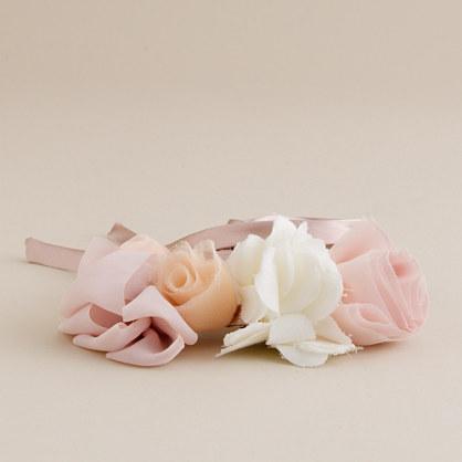 Flowerette sash