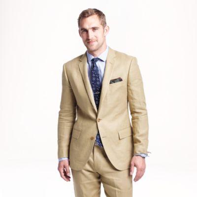 Ludlow suit jacket in Irish linen : Men suits & tuxedos | J.Crew