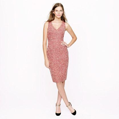 Petite bouclé dress