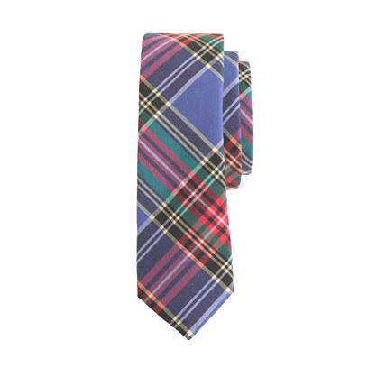 Boys' tartan tie