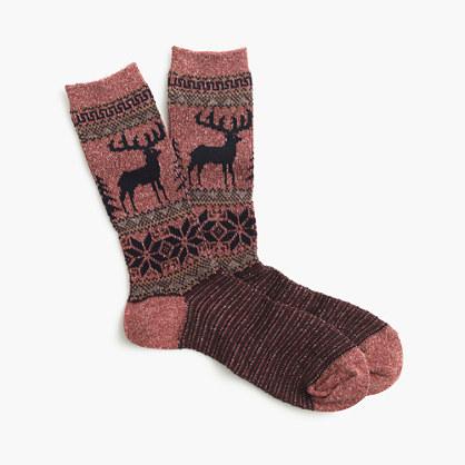 Anonymous Ism™ deer socks