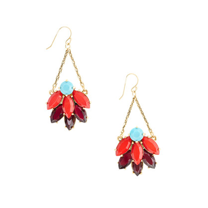 Lulu Frost for J.Crew navette earrings