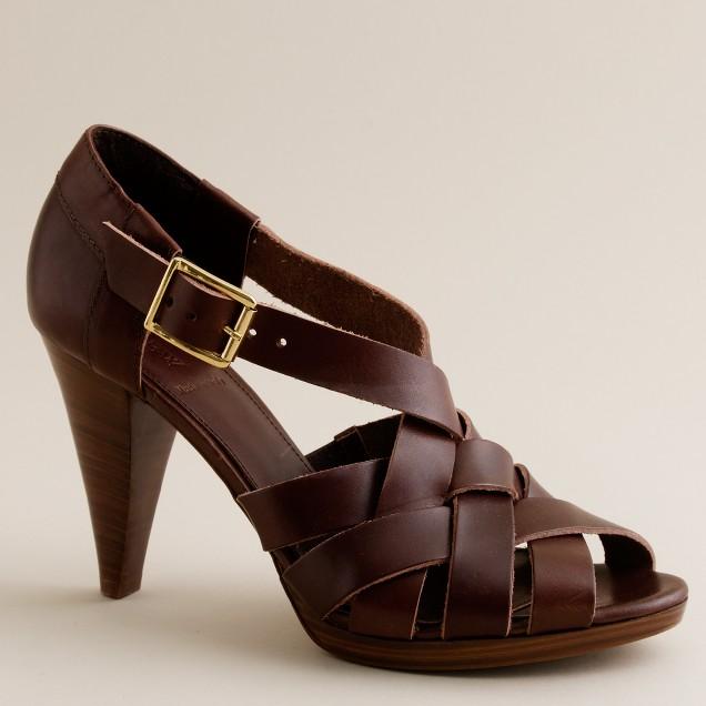 Ares platform heels