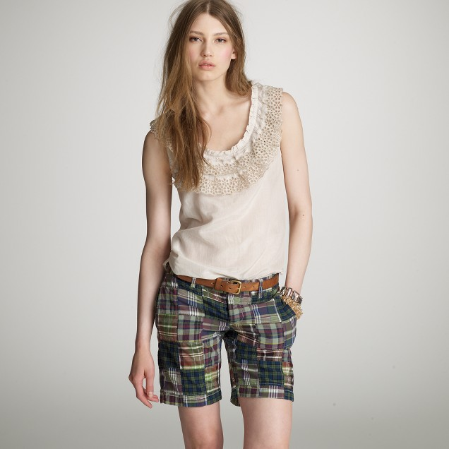 Madras boyfriend short