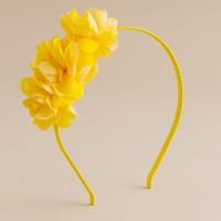 Girls' spring flower headband