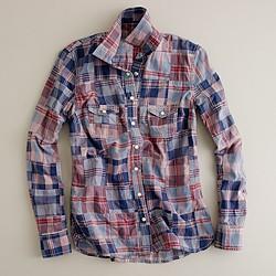 Seaside madras shirt