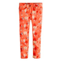 Girls' toothpick jean in painted floral