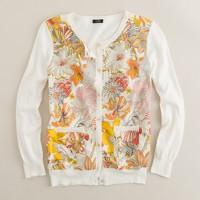 Liberty floral daze cardigan