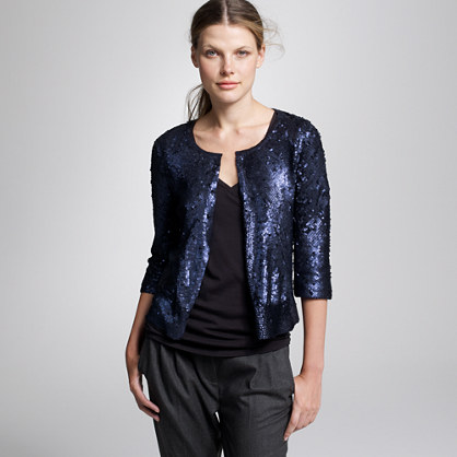 Swinton sequin cardigan
