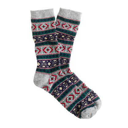 Anonymous Ism Fair Isle socks