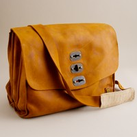 Belstaff® large New York postman bag