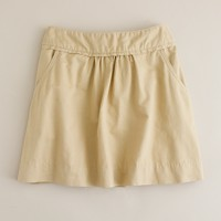 Cotton cavalry skirt