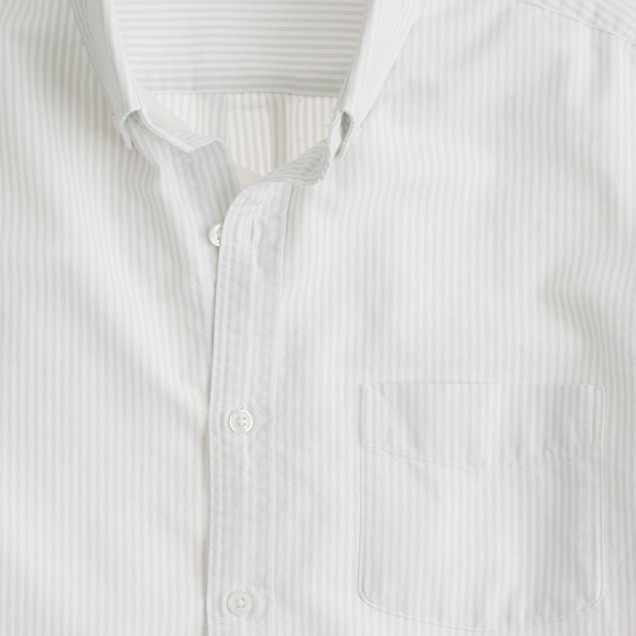 Vintage oxford shirt in sun-faded stripe