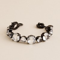 Large crystal colletto bracelet