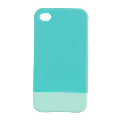 Colorblock case for iPhone 4