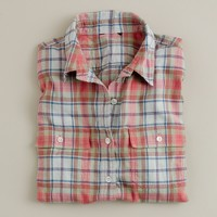 Sconset plaid shirt
