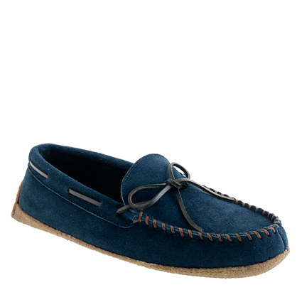 Black Watch fleece-lined lodge moccasins