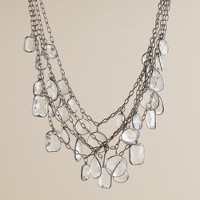 Crystal corona necklace