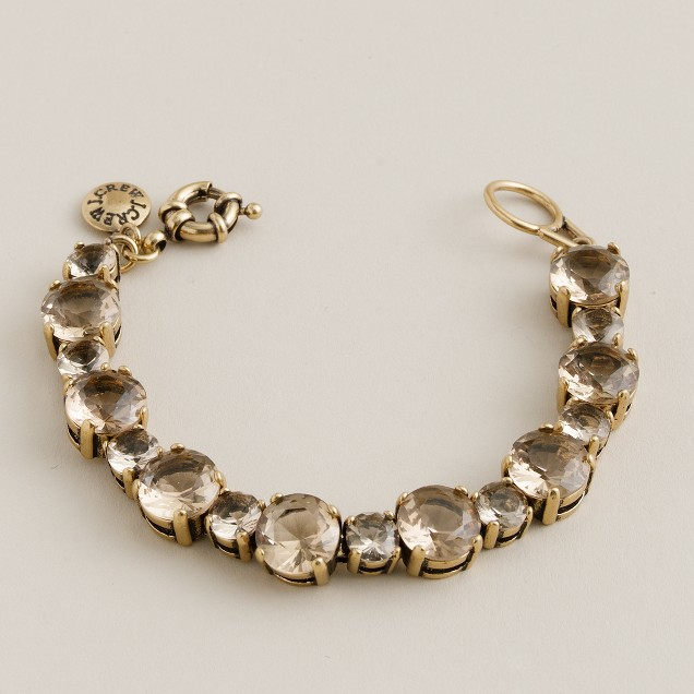 Small crystal colletto bracelet