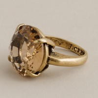 Glamour cocktail ring