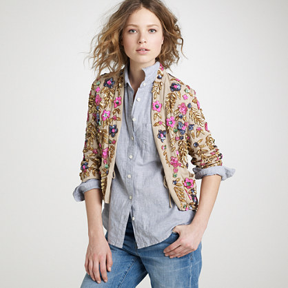 Jeweled jardin jacket
