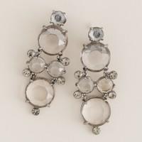 Crystal glamour drop earrings