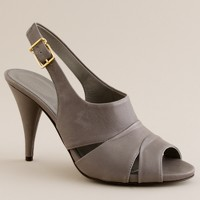 Julienne leather heels