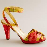 Esmé printed platform sandals
