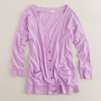 Softspun cotton cardigan