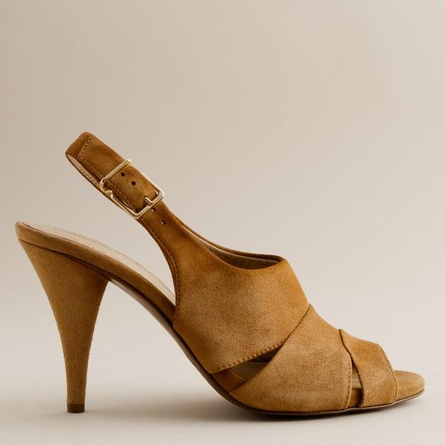Julienne suede heels