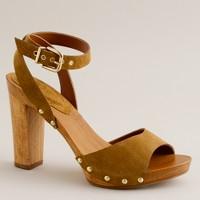 Willow wooden platform sandals