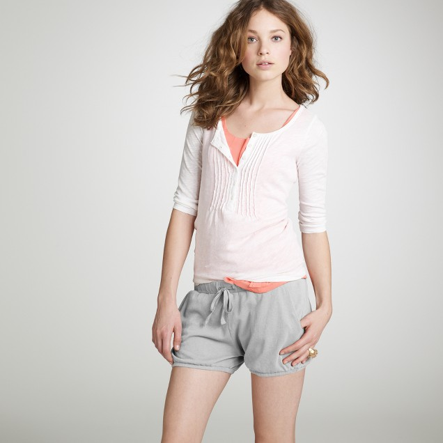 Luxe knit bloomer short
