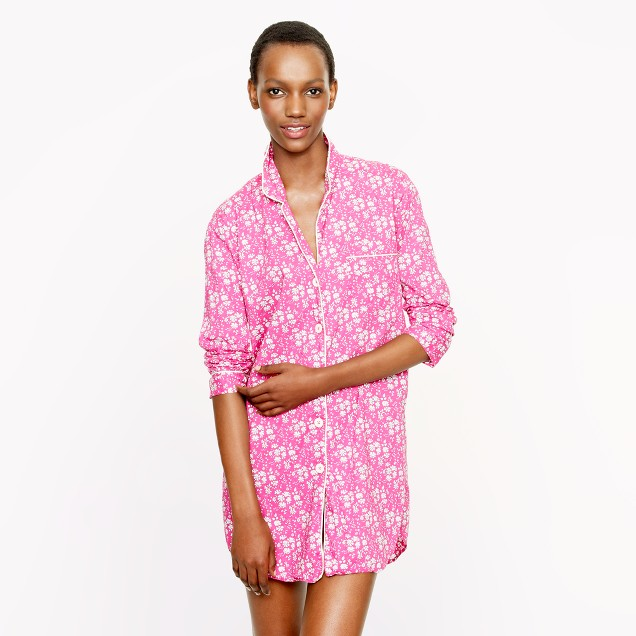 Liberty nightshirt in Capel floral