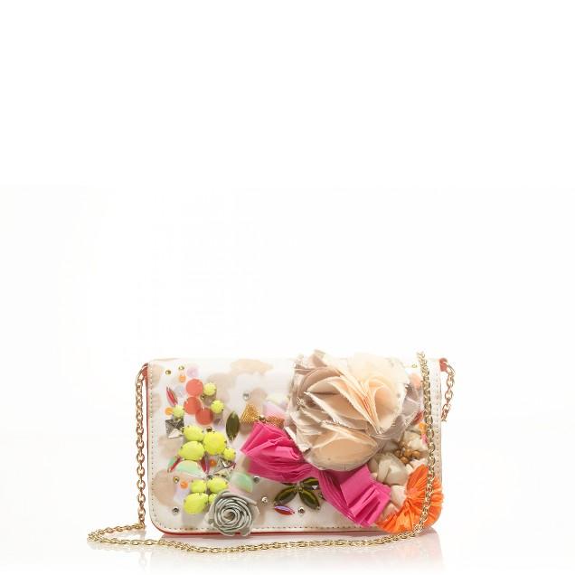 Floral Fantasma clutch