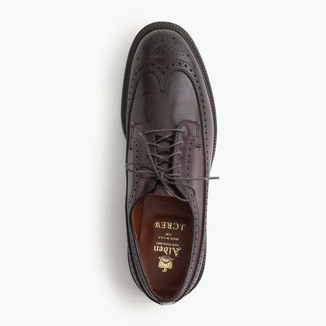 Alden® shell cordovan longwing bluchers