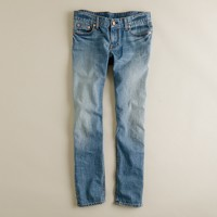 Cropped matchstick jean in dream wash