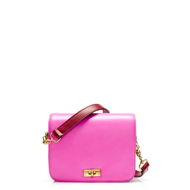 Mini Edie purse in two tone
