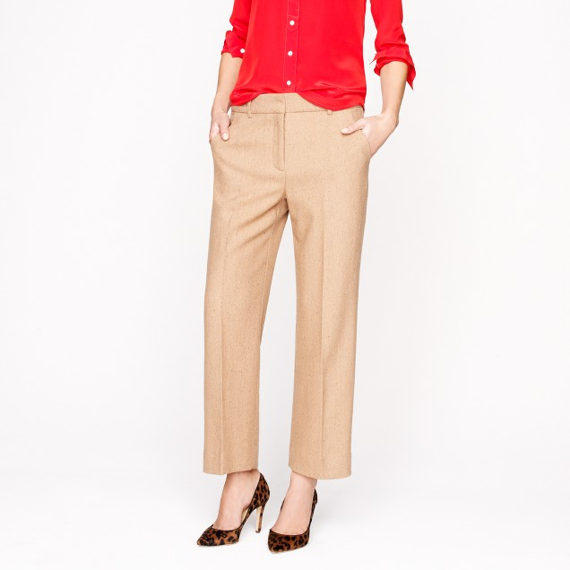 Collection wool twill pant