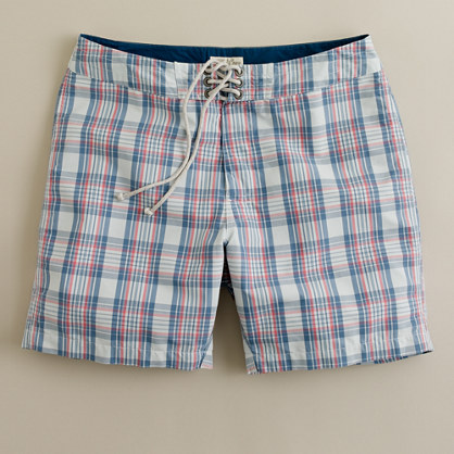 Coastal madras board short