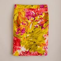 Impressionist pencil skirt