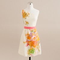 Painted silk Bridget dress