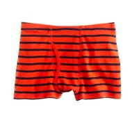 Boys' ribbed boxers in stripe