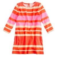 Girls' bold-stripe tunic
