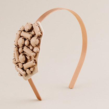 Jewel cluster headband