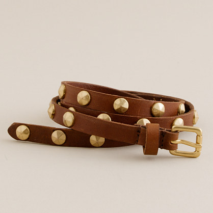Studded bar-car belt