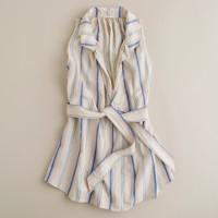Croquet-stripe caprese tunic
