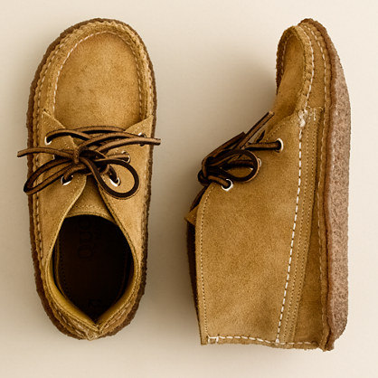 Kids' Quoddy® suede chukka boots