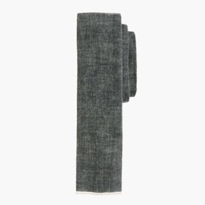 The Hill-side® Japanese selvedge chambray tie