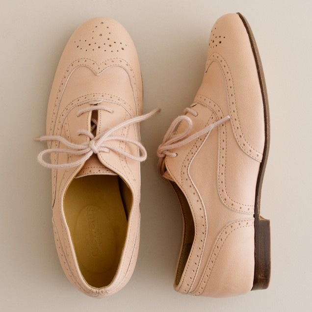 Girls' Camden leather brogues