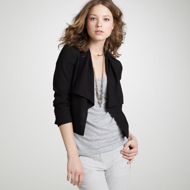 Drapey wool Caswell jacket